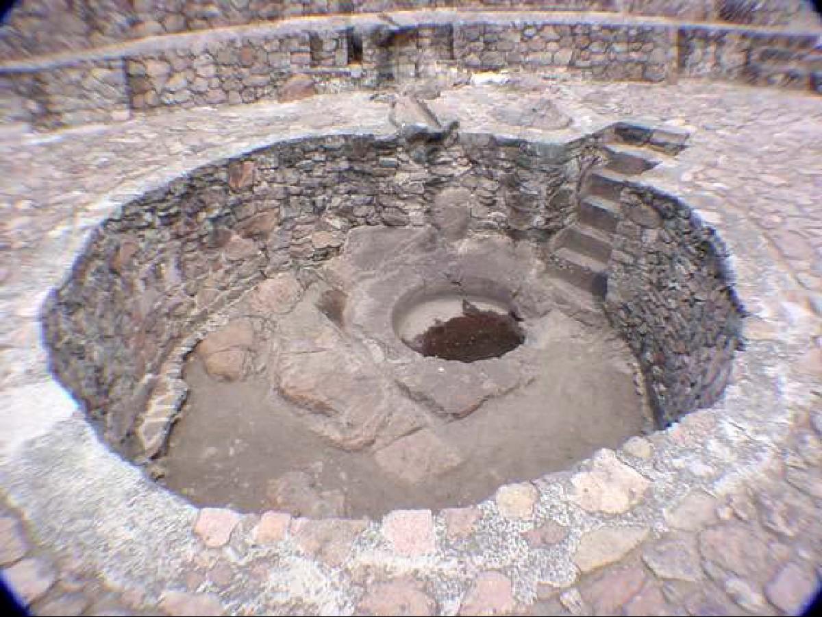 Baños de Nezahualcóyotl en Texcoco