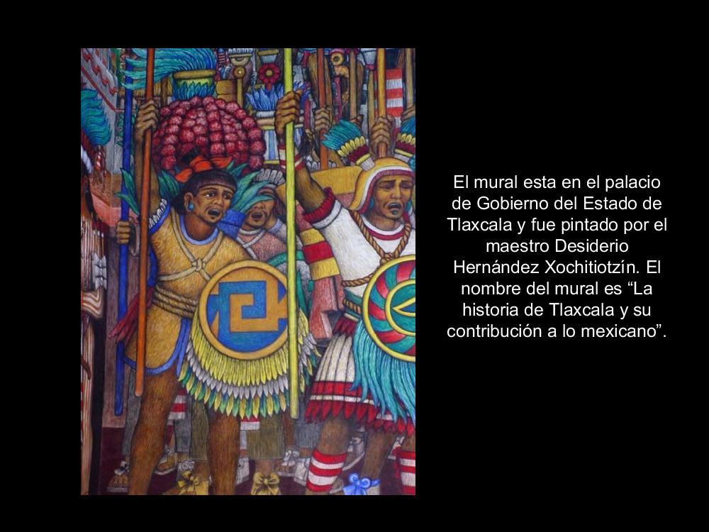 Murales del palacio de gobierno de estado de tlaxcala