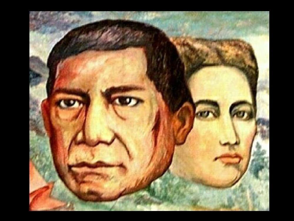 Murales del palacio de gobierno de oaxaca